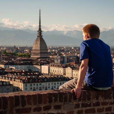 Torino dall'alto.